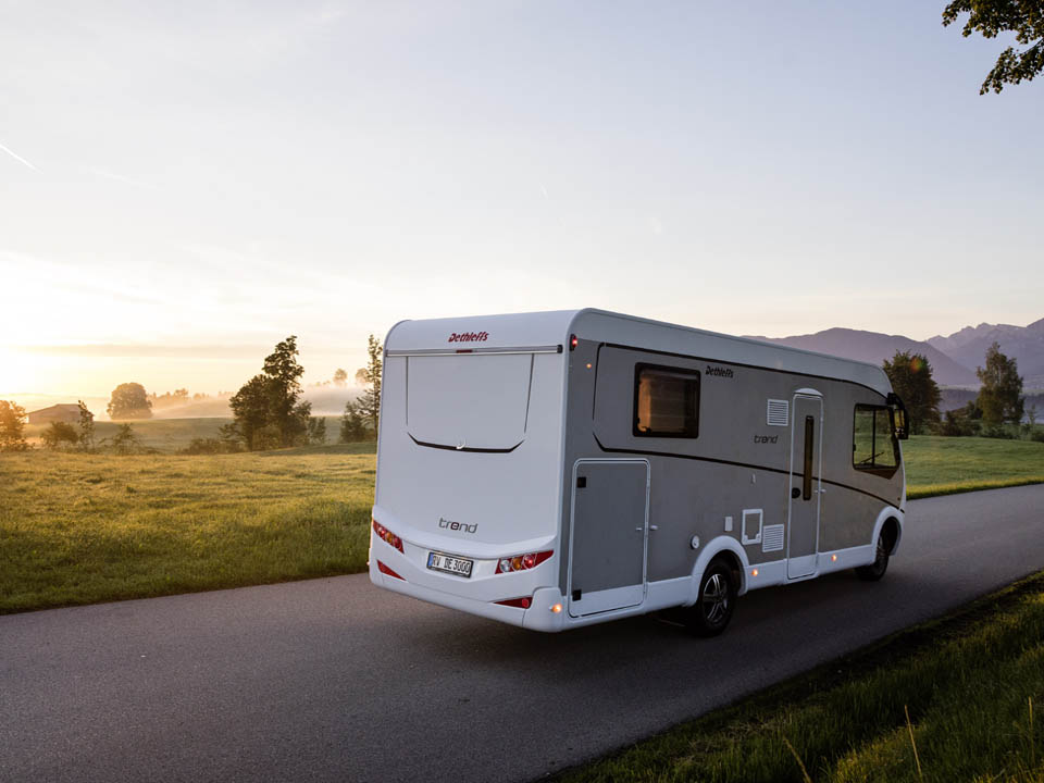 Dethleffs motorhomes - trendsetters with esprit and pulse